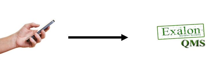 Exalon QMS information flow